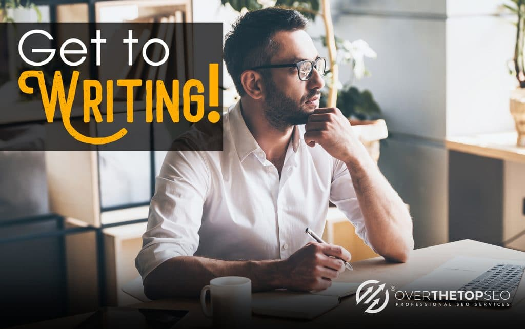 Just start writing