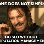 Warning. Do not neglect Online Reputation Management